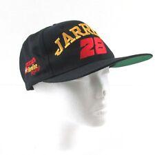 Vintage Dale Jarrett Texaco Havoline Racing Snapback Hat Nascar 28 Black Cap Lid