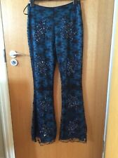 KAREN MILLEN TROUSERS LACE, EMBELLESHED, BEADED, PARTY, WEDDING SIZE 10