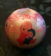 American Greetings Precious Baby Girl First Christmas Ornament 1984