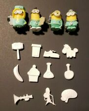 Despicable Me Operation Replacement Game Parts - 11 Pieces + 4 Minions COMPLETE!