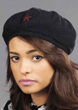 Black Military Beret Army Hat