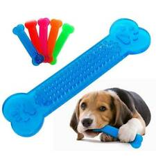 NEW Durable Dog Chew Toys Bone for Aggressive Chewers Indestructible Rubber