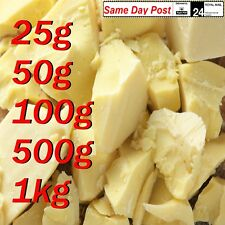 Cocoa Butter 100% Raw Pure cacao fat natural high-quality 25g 200g 1kg , cooking