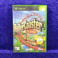 xbox ROLLERCOASTER TYCOON PAL UK Version