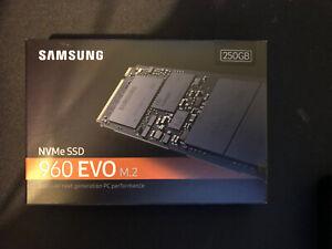 Samsung 960 EVO SSD M.2 250 GB PCI Express 3.0 V-NAND NVMe