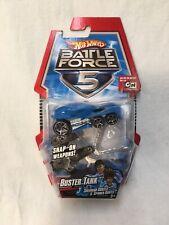 *NEW* Hot Wheels Battle Force 5 Buster Tank Toy Car 2009 Mattel *NEW*