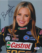 Psa/Dna Signed 8X10 Photo Brittany Force P1825