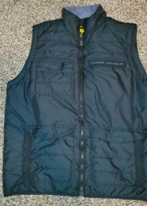 UNDER ARMOUR MTN MOUNTAIN PUFFER VEST MENS LARGE
