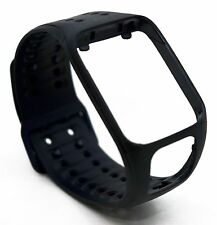 NEW OEM TomTom Strap LARGE Black Spark 2/Runner 3 GPS Watch Comfort Cardio Slim