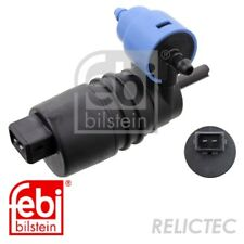 Water Pump, window cleaning Opel Vauxhall Saab:ASTRA G,ASTRA H,ASTRA Mk IV 4