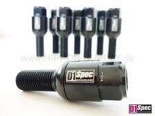 Negro m14 x 1.5 tornillos bala federal d1-Spec perno de rueda VW AUDI SEAT SKODA