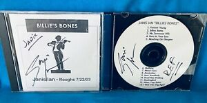 Janis Ian: Billie's Bones Roughs, References, and Artwork CDs signed by Janis