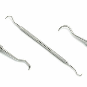 Dental Scalar Pick Instruments, Double Ended Anterior Teeth Jacquette Scaler