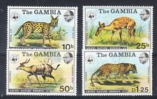 Gambia Scott 341-344 Mint NH (WWF) Catalog Value $94.00