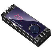M2 SSD Heatsink Cooler Temperature OLED Digital Display M.2 2280 NVME SSD SoS6B6