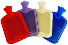 NEW 2 LITRE LARGE HOT WATER NATURAL RUBBER BOTTLE WARMER SMALL 500 ML