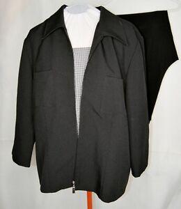 18W Kathie Lee BLACK PANTSUIT pant suit