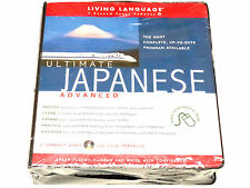 RARE BEST Ultimate Japanese Advanced (CD Pkg) Living Language Course Ser. IN BAG
