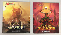 Players Guide AMONKHET and HOUR OF DEVASTATION From Fat Pack Bundle Mtg NEW