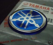 2x Yamaha Tuning Fork Stickers Decals 40mm FZ FJ RD YZ Parts *GENUINE*