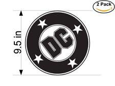 dc big comics logo 2 Stickers 9.5 Inches Sticker Decal