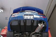 FRP FIBER GLASS FEED STYLE REAR DIFFUSER FOR MAZDA RX-7 RX7 FD3S
