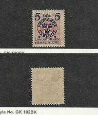 Sweden, Postage Stamp, #B16 Mint Hinged, 1916