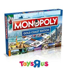 Monopoly Gold Coast Edition Board Game