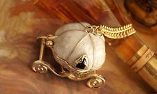 Cenicienta Cuento De Hadas Princesa Calabaza transporte Medallón Collar Magic coche