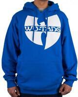 Wu-Wear Wu-Tang Clan Logo Hoodie Royal Blue Wu Tang Wear Sweater S-3XL NEW