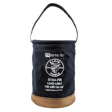 Klein Tools 5104FR Flame-Resistant Canvas Bucket