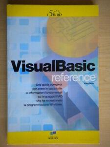 Visual Basic ReferenceFlorio EliaMasterLibroinformatica software come nuovo