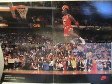 Vintage 1992 Michael Jordan Nike Chicago Bulls Poster