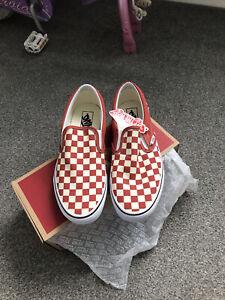 Vans Slip On Size 9