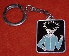 porte-clé Keychain Spécial CHIC Punk punky Bad Boy enamel émaux sur aluminium