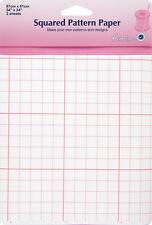 Dobladillo papel de calcar Squared 61x86cm