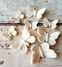 Edible Sugar Butterflies for cake/cupcake decorations *UK Seller* x12