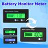 LCD 12V 24V 36V 48V Lead-Acid Battery Status Voltmeter Monitor Meter Car