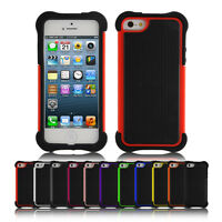 Shockproof 360° Heavy Duty Hybrid Anti-Scratch Cover Case For iPhone SE 5s 5