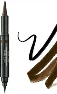 Laura Geller Line-N-Define Dual Dimension Liquid & Kohl Eye Liners BLACK/BROWN