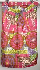 """NEW Trina Turk Skirt, Med, Bright Colors, Lightweight, A-Line. Marked """"Sample"""""""