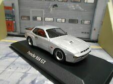PORSCHE 924 Coupe Carrera GT 1981 silber silver Maxichamps Minichamps 1:43