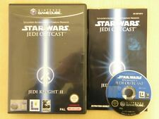 Nintendo Gamecube Game * STAR WARS JEDI KNIGHT II JEDI OUTCAST * Complete 12239