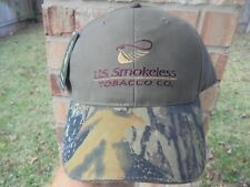 NEW UST COPENHAGEN Hunting MOSSY OAK Camo HAT CAP DIP SKOAL
