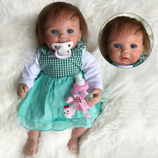 15Inch Realistic Reborn Baby Dolls Newborn Toddler Lifelike Silicone Vinyl Girl