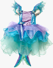 NEW Girls Kids Mermaid Costume Cosplay Sea Princess Dress Extra Large