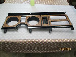 83-88 Ford Bronco II Ranger Wood Grain Dash Instrument Bezel 1983-1988 OEM