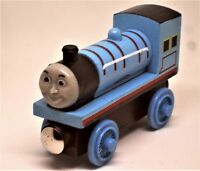 NEW THOMAS AND FRIENDS LARGE MAGNETIC WOODEN TRAINS, BRIO ELC TRACKS COMPATIBLE.