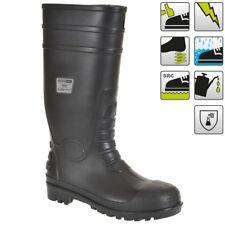 Portwest Classic Safety Wellington Boots Steel Toe Cap PVC Waterproof Shoes FW94