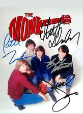 THE MONKEES signed photo RP Davy Jones Micky Dolenz Peter Tork Michael Nesmith